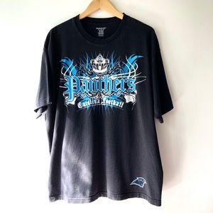 Vintage 1995 Carolina Panthers Tee Black XL